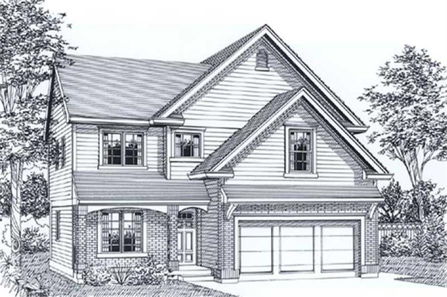 Main image for house plan # 12040