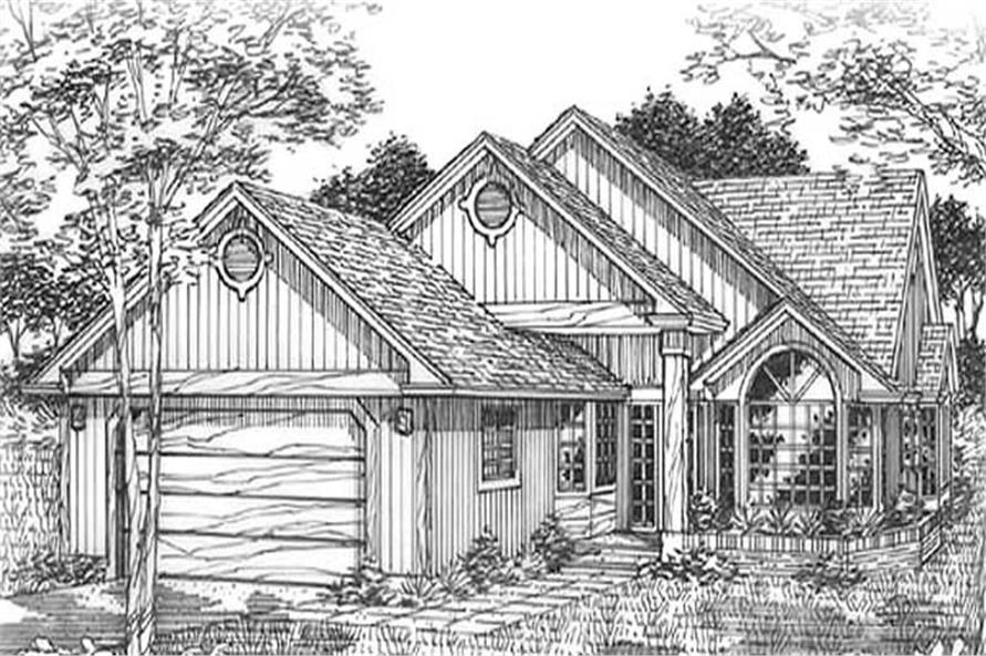 Main image for house plan # 12058
