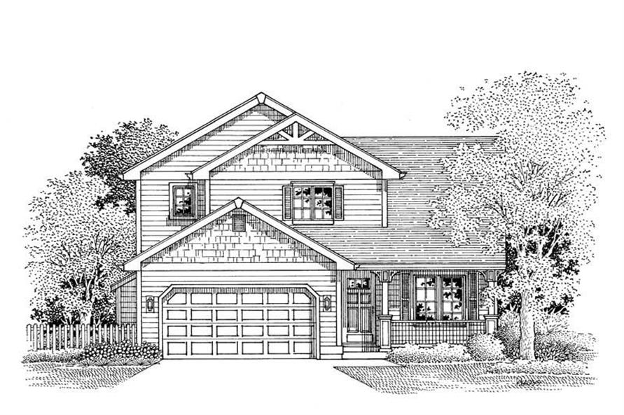 Main image for house plan # 12034