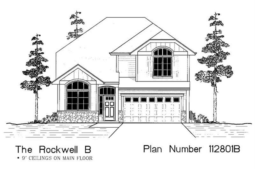 Main image for house plan # 12062