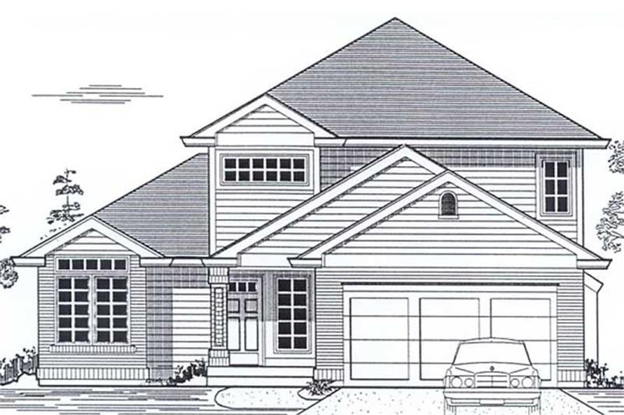 Main image for house plan # 12026