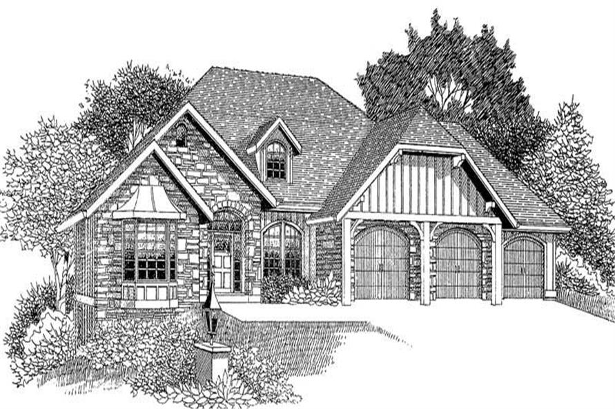 Main image for house plan # 12021