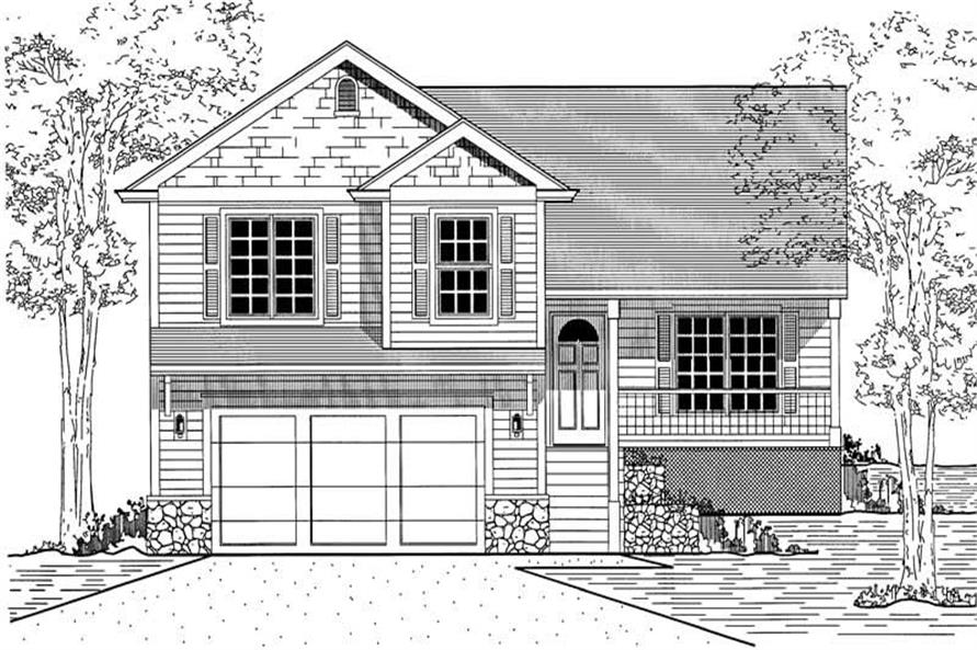 Main image for house plan # 12016