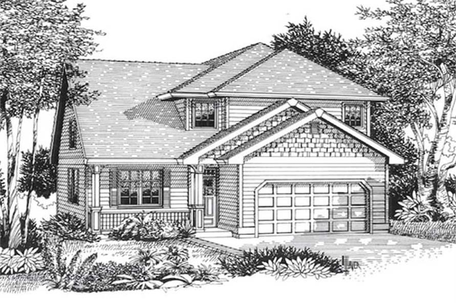 Main image for house plan # 12039