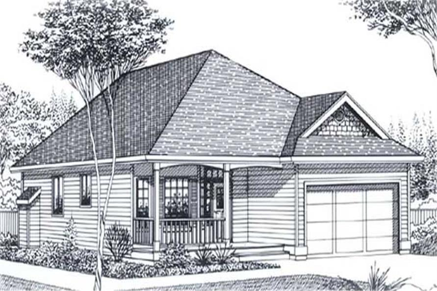 Main image for house plan # 11851