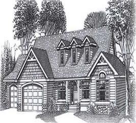 House Plan #171-1247