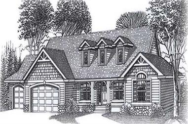 Main image for house plan # 11864