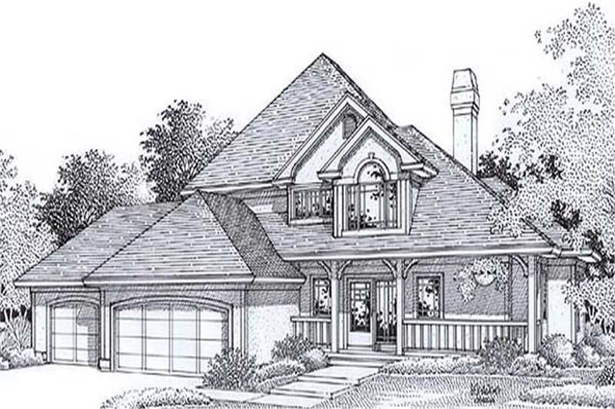 Main image for house plan # 11820
