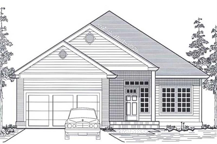 Main image for house plan # 11842