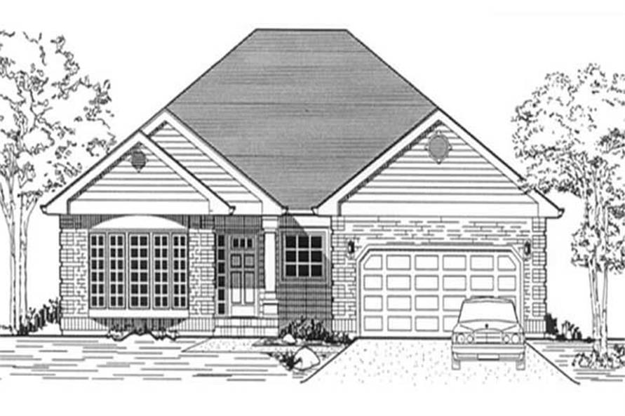 Main image for house plan # 12051