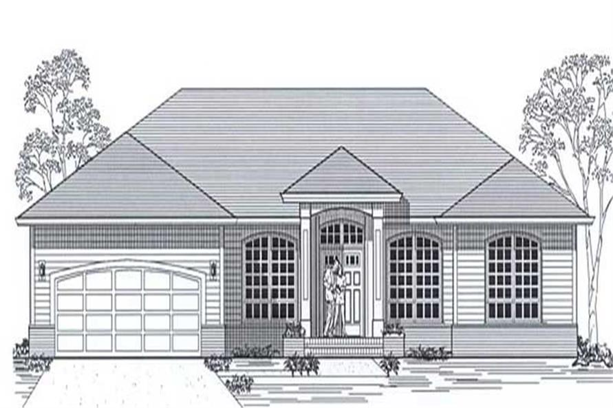 Main image for house plan # 11857