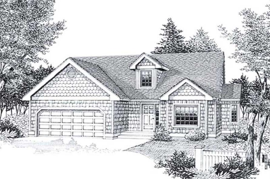 Main image for house plan # 11849