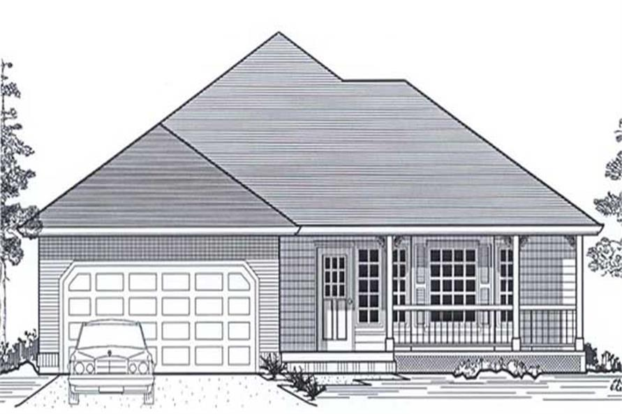 Main image for house plan # 11846