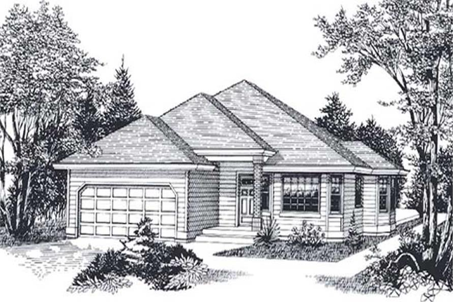 Main image for house plan # 11844