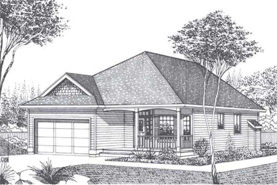 Main image for house plan # 11839