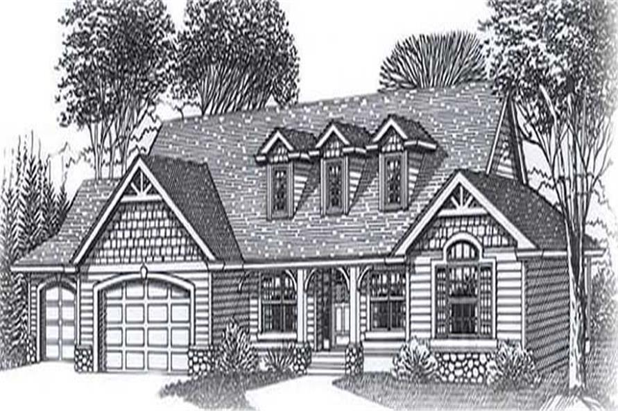 Main image for house plan # 11858