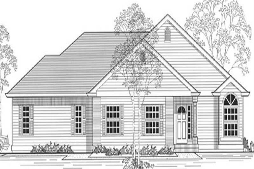 Main image for house plan # 11957