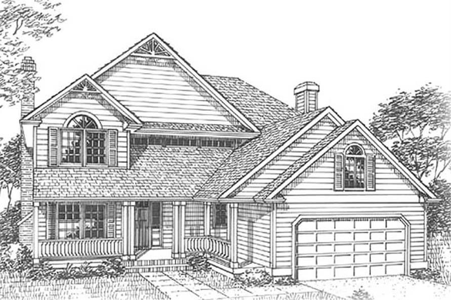 Main image for house plan # 12060