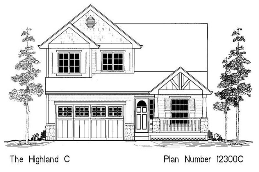 Main image for house plan # 11954