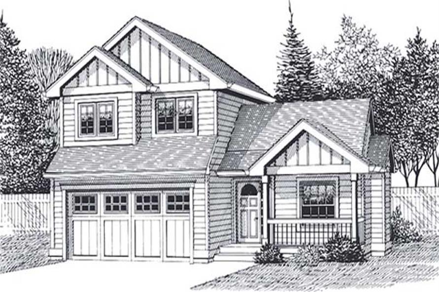 Main image for house plan # 11952