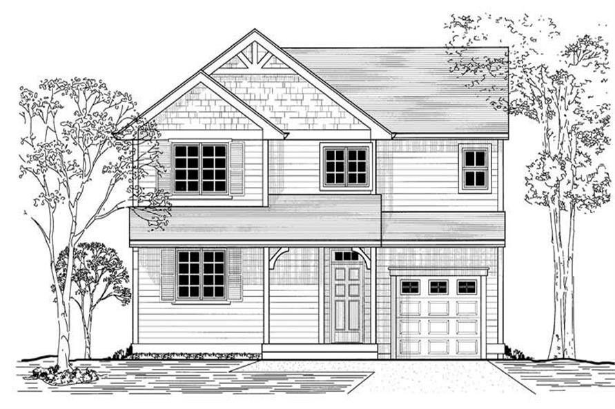 Main image for house plan # 11977