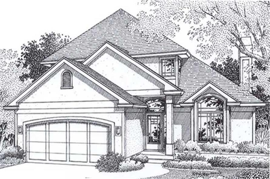 Main image for house plan # 11949