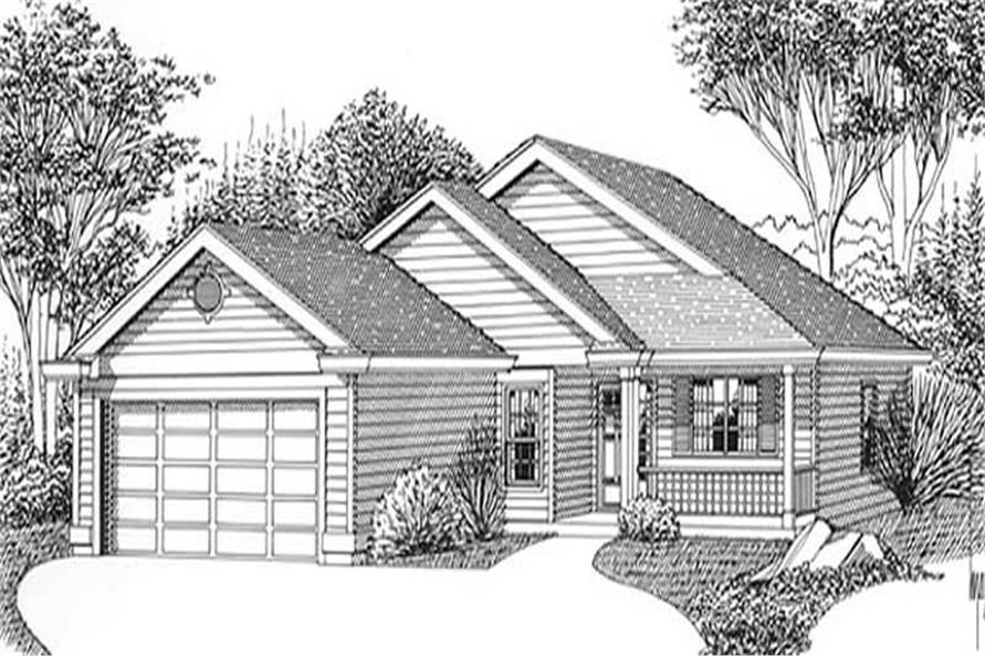 Main image for house plan # 11938