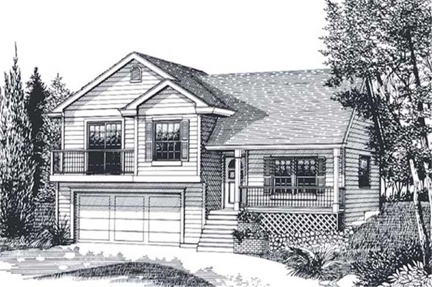 Main image for house plan # 12014