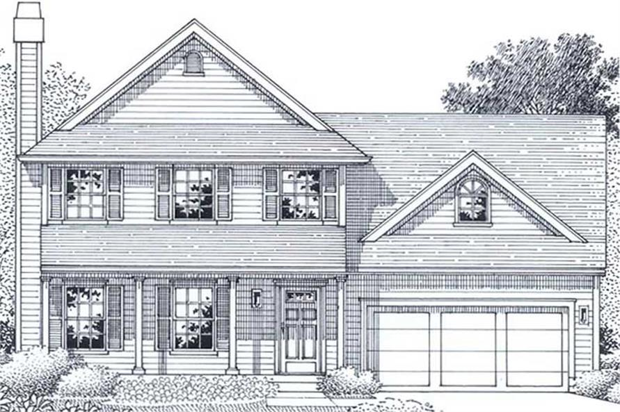 Main image for house plan # 11950