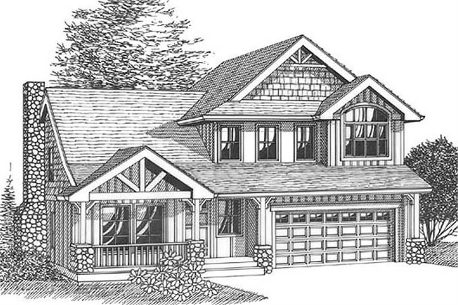 Main image for house plan # 12005