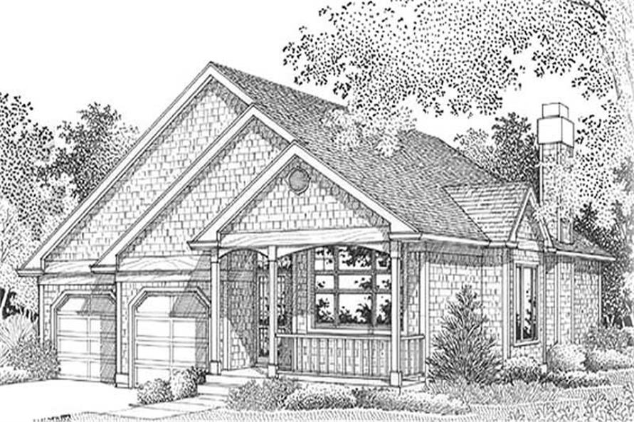 Main image for house plan # 12013