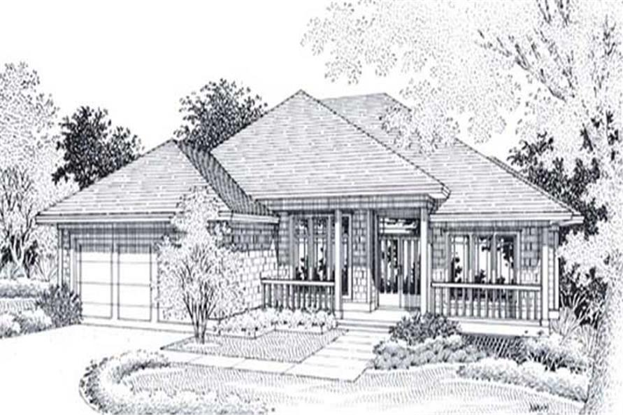 Main image for house plan # 12010