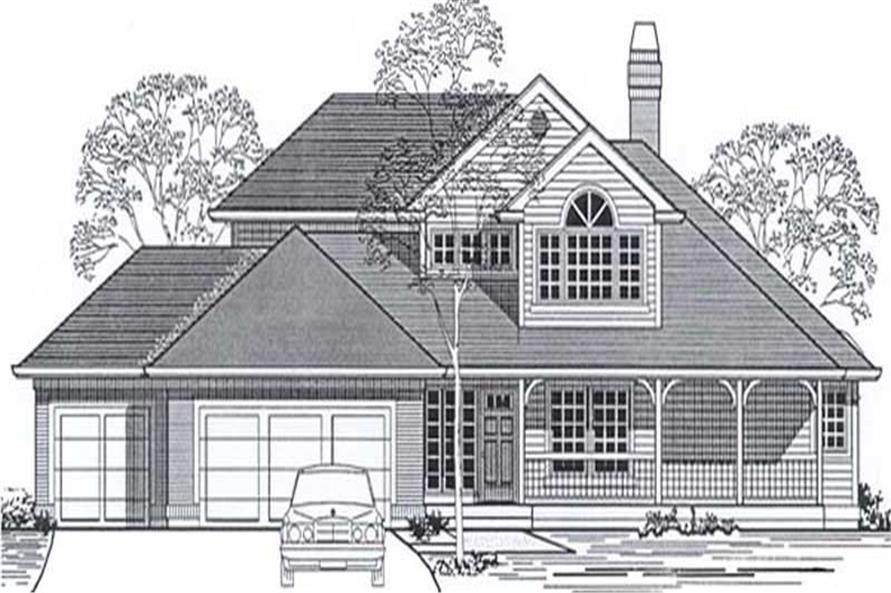 Main image for house plan # 12009