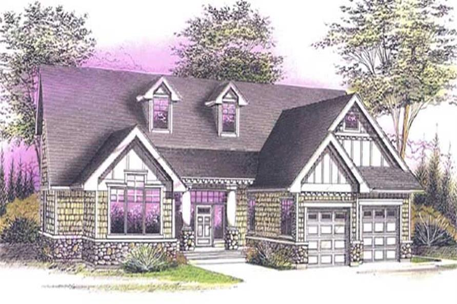 Main image for house plan # 12008