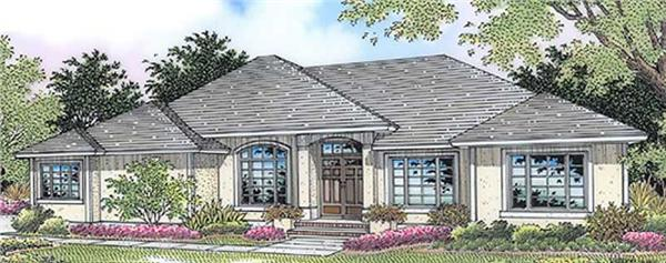 Main image for house plan # 11855