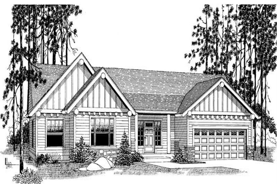 Main image for house plan # 11931