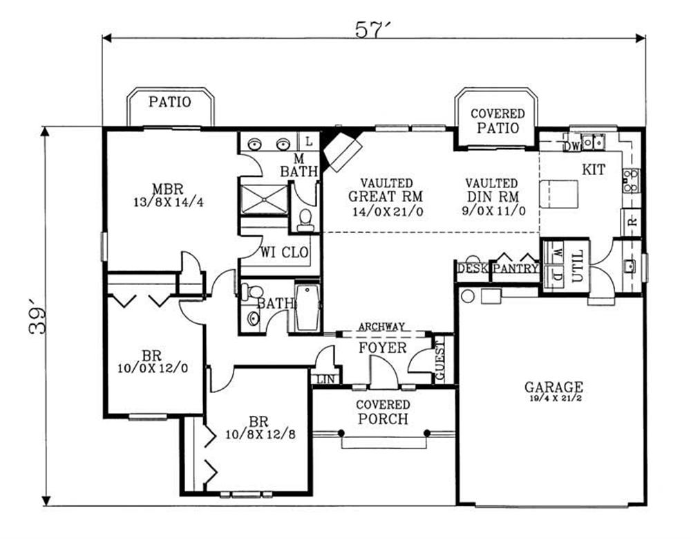 Large Images For House Plan 171 1287