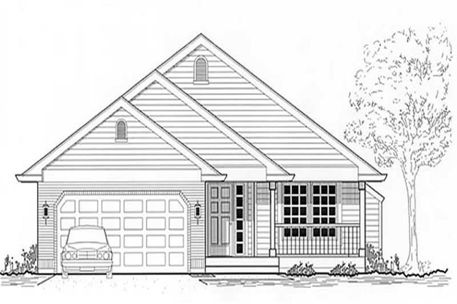 Main image for house plan # 11990