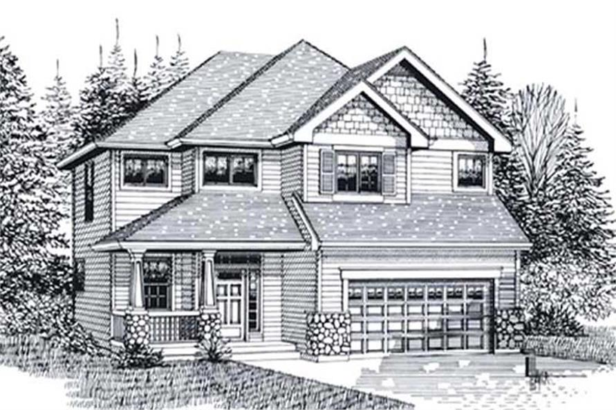 Main image for house plan # 11981