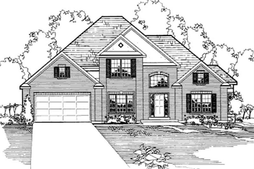 Main image for house plan # 3182