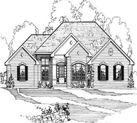 House Plan #172-1002