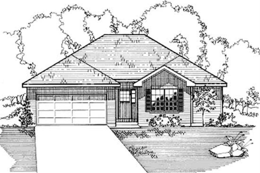 Auxilary of this 4-Bedroom,1257 Sq Ft Plan -1257