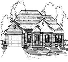House Plan #172-1004