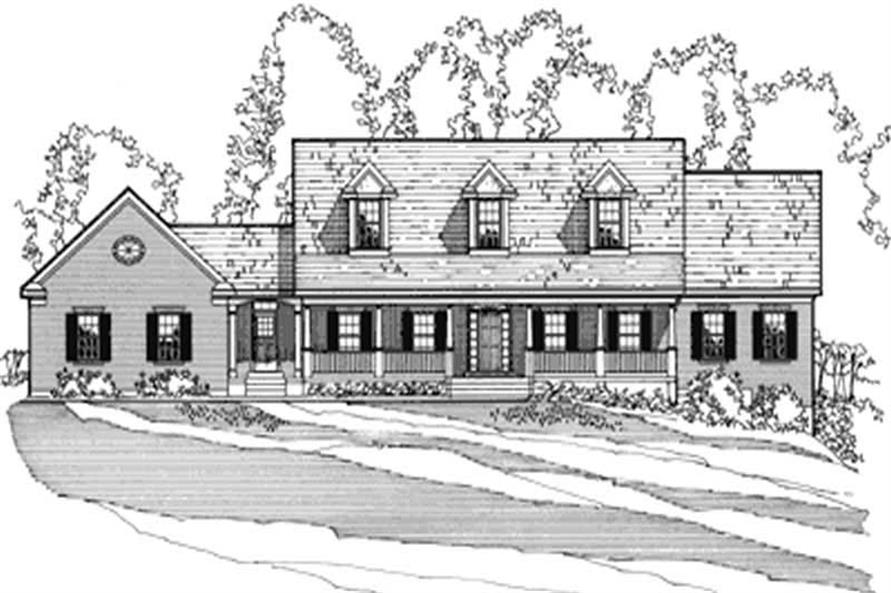Main image for house plan # 3183