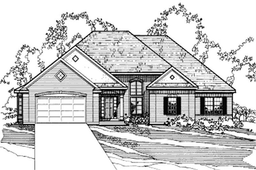 Main image for house plan # 3181