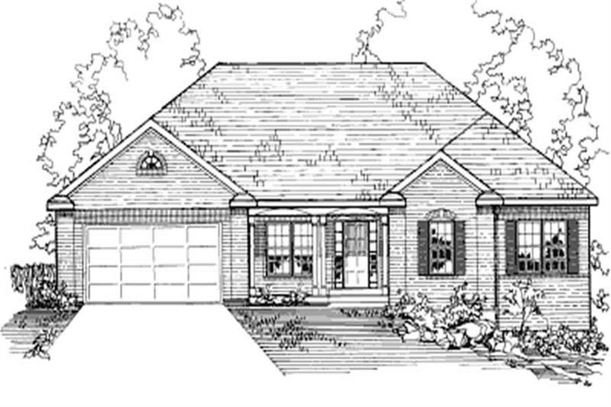 Main image for house plan # 3179