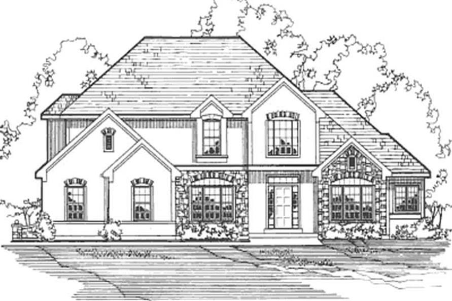 Home Plan Other Image of this 4-Bedroom,2924 Sq Ft Plan -172-1012