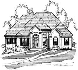 House Plan #172-1013