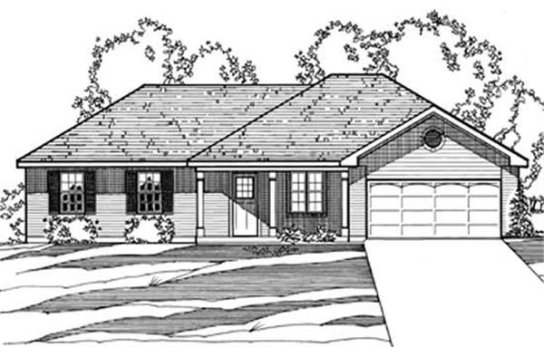 Main image for house plan # 3217