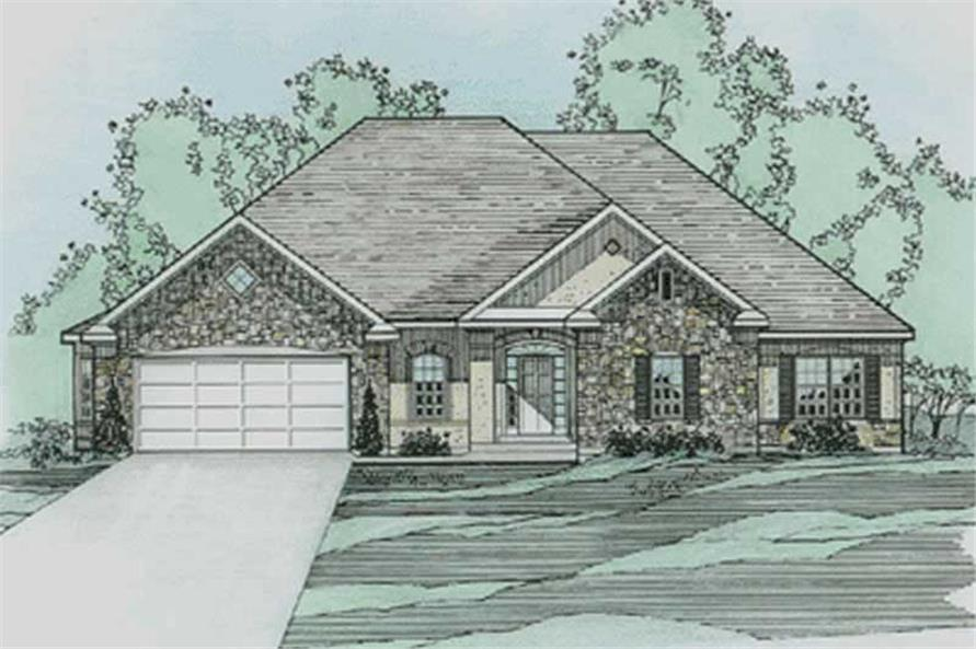 Main image for house plan # 3215